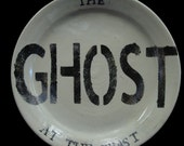The Ghost At The Feast Plate