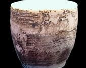 Birch Bark Inspired Tea Cup