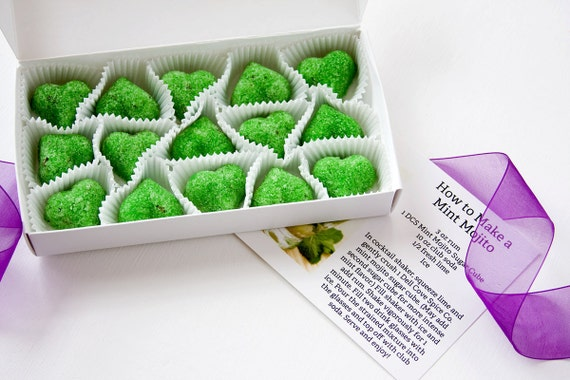 Sugar Cubes - Mojito cocktail sugar cubes - DIY cocktail kit - green ...