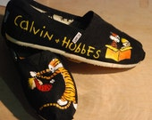 Custom Painted Toms Shoes