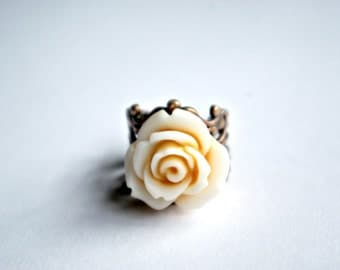 Sale - Mediano Yellow Rose Ring