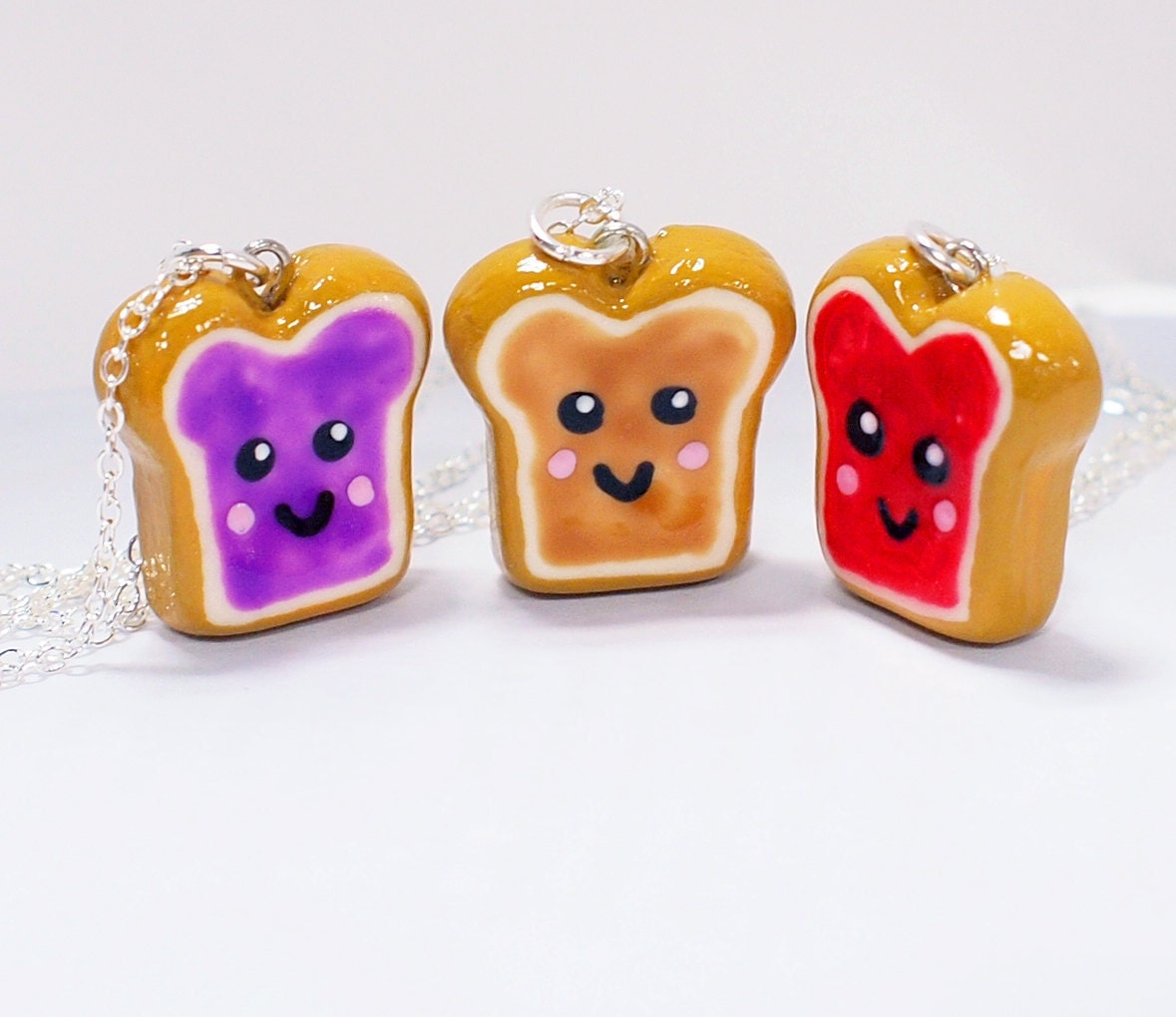 Items similar to Peanut Butter and Jelly 3 Best Friends ...
