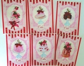 Sweet Shoppe Cake  edible image wafer papers for your cookies, fondant and chocolates