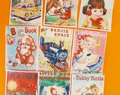 Classic Vintage Children's Book Cover edible image wafer papers for cookies, cake, fondant or chocolate