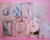 Ballerina Edible Image Wafer Papers for your iced cookies, cake, chocolates and baked treats