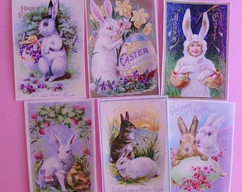Vintage Easter Edible Image Wafer Papers for your cookies, fondant, chocolates