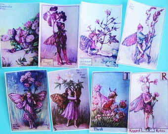 Pink Fairy Edible Image Wafer Papers for your iced cookies, fondant, cake, chocolates