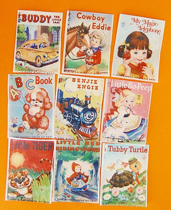 Cover Page For Children S Book : Classic vintage children s book cover edible image wafer