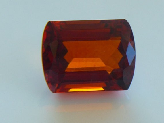 Citrine Madeira natural 25.90cts barrel shape.......WOW