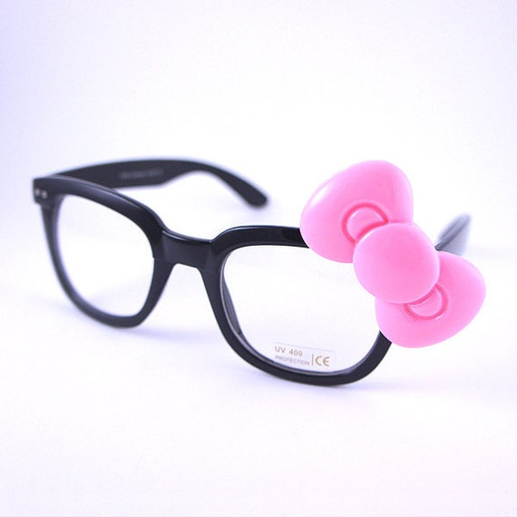 Hello Kitty Bow Geek glasses.