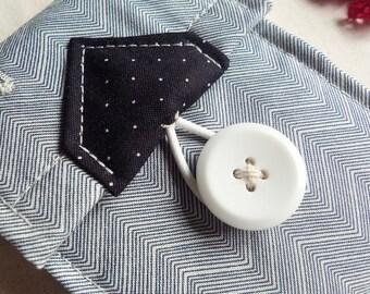 ipod/iphone wallet - zigzag navy