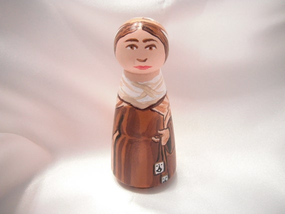 Our Lady of Mount Carmel - Catholic Saint Doll - made to order