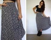 Vintage 90s Lisa Maxi Skirt