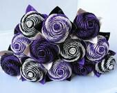 Pretty In Purple Duct Tape Rose Bouquet