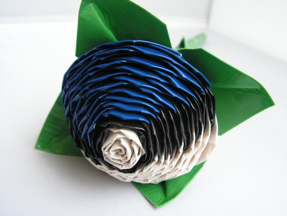 Blue Pokeball Duct Tape Rose