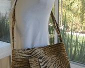 Tote...The Ms. Tina Everyday Beautiful... Browns and Beige Tapestry Medium Bag...SALE...Ready for shipping
