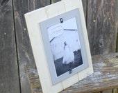 IN STOCK SALE Single 4x6: Antique White & Fog Gray