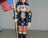 Uncle Sam Nut Cracker