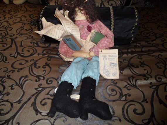 Vintage Stressie Bessie Attic Babies Doll By Marty Maschino