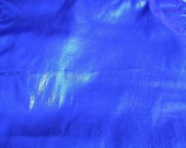 Sapphire Blue Tissue Lame  1 yard  (SM57)
