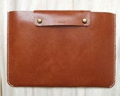 Personalized 15 Macbook Pro (Retina) Case - Leather - Hand Stitched