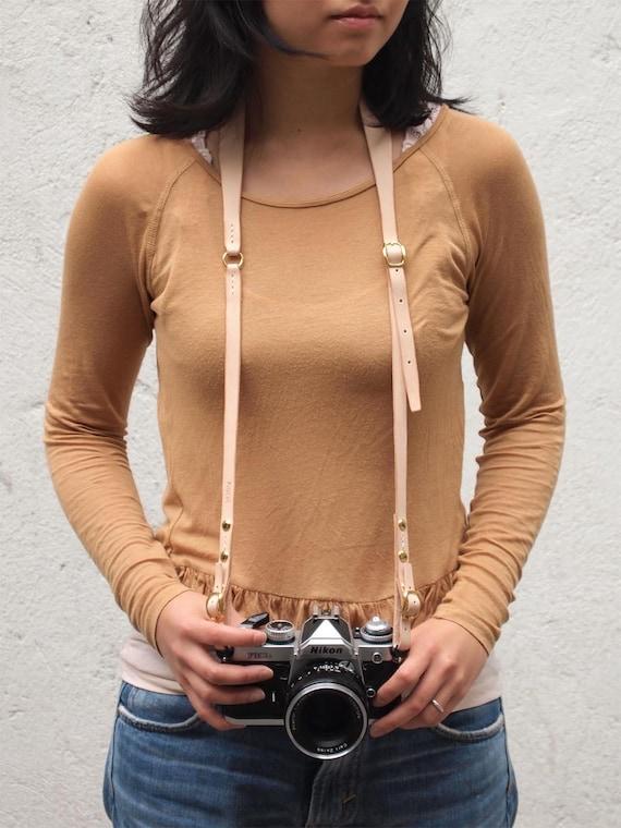 Canon Camera Strap Personalized Leather Camera Strap, Personalized Camera Strap Leather Custom Camera Strap dslr Camera Strap HarLex