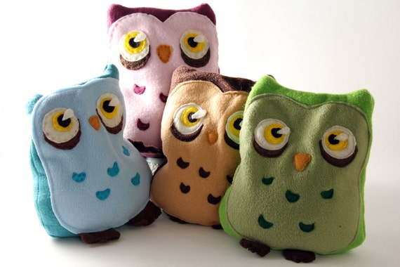 Brown Owl Heating Pad