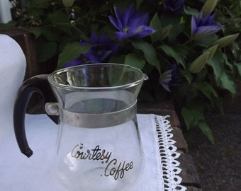 Coffee Carafe - Small Decanter Serving Pitcher - 2 Cups