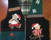 Tacky Christmas Vest- Ladies Size Medium