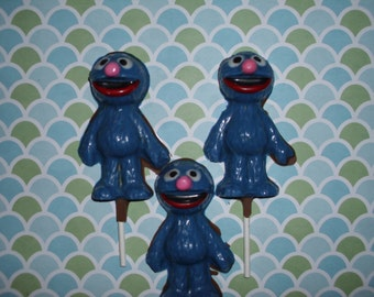 Grover  Chocolate Lollipops