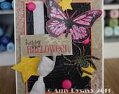 Butterfly Halloween Card
