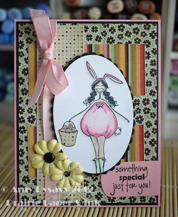 Something Special Easter Bella Bunny Card