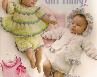 Crochet Craft Book Crochet Instructions BookCrochet Patterns  Book It's a Little Baby Girl Thing Annie's Attic