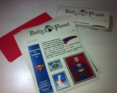 RESERVED FOR Angie Rosas: Superman Invitation