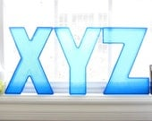 Marquee Letters - XYZ