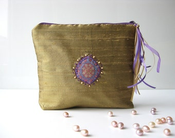 Cosmetic pouch sunny lavender