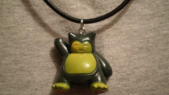 Pokemon Snorlax Charm Necklace