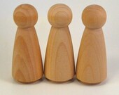 Three Grandmas Wooden Dolls