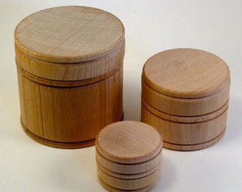 Treasure Boxes - Three Nesting Chests