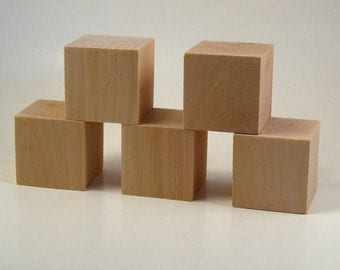 Wooden Blocks - 30 blocks 1.5 inches
