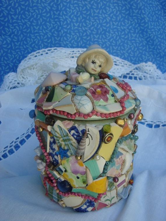 Mosaic Memory Jar  Collectible