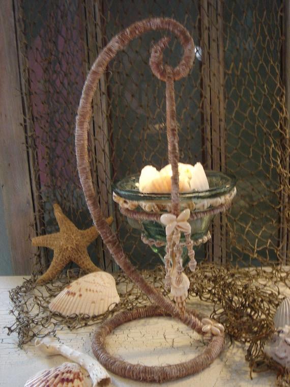Hanging Sea Side Candle Holder