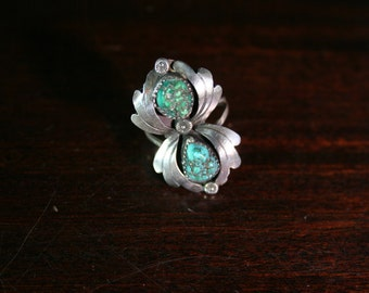 15% OFF - Turquoise Native American Ring