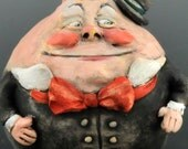 Vintage Style Collectible Humpty Dumpty Ornament