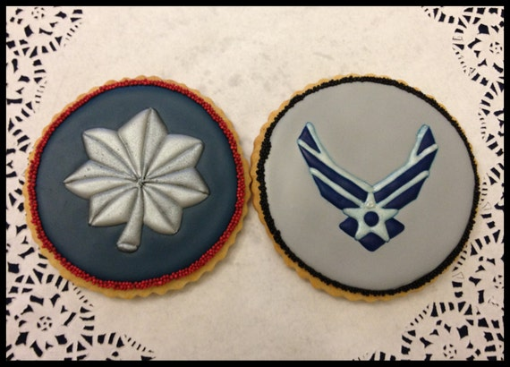 Air Force Fighter Pilot Cookies
