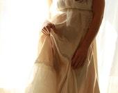 A Walk In Paris- Ruffle Wedding Gown Eco Friendly Sample Sale