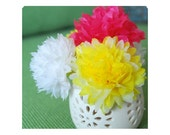 Custom listing for leelapoodle - 30 pompom flowers