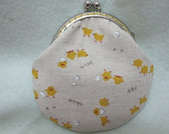 Clearance Handmade Coin Purse - Little Chick
