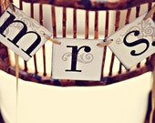 Mrs. and Mrs. Wedding Signs / Mrs. Wedding Banners / Brides Banners / Same Sex Wedding Decor
