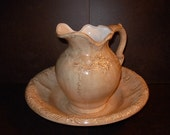Victorian Bowl and Pitcher Set